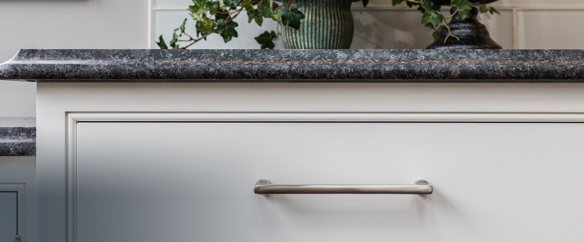 Bareville counter top and cabinetry